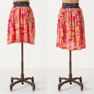 Anthropologie Vanessa Virginia Tamarind skirt